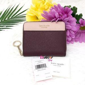 NWT Kate Spade Cameron Zipper Small Wallet